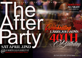 The After Party April 2017