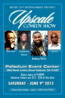 Upscale Comedy Show