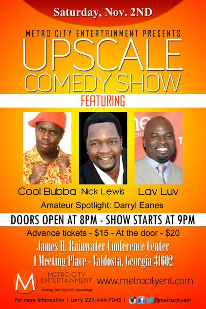Upscale Comedy Show