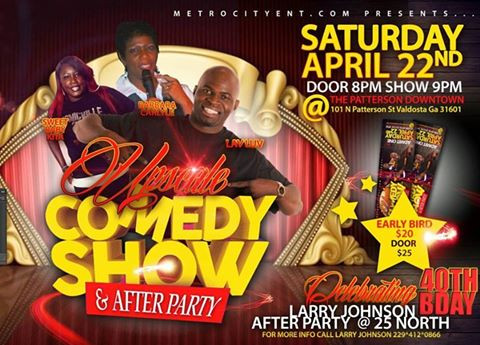 Upscale Comedy Show April 2017