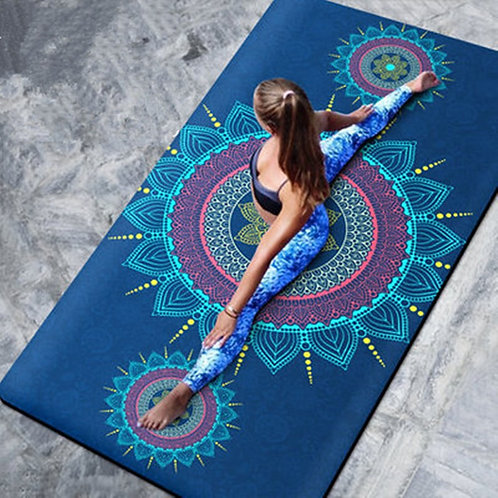 Suede Non-Slip Fitness Mat