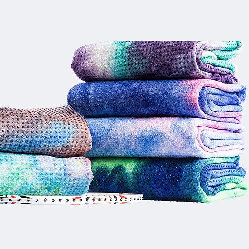 Tie-Dye Yoga Blanket