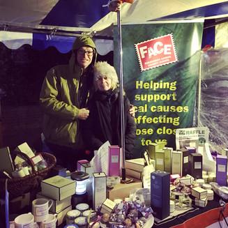 Wet but wonderful - Furzedown Christmas Market