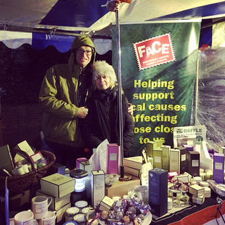 Wet but wonderful - Furzedown Christmas Market