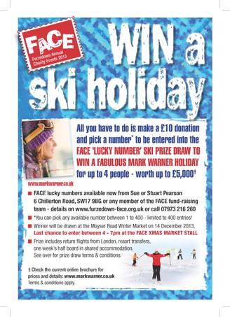 Amazing Ski Holiday prize