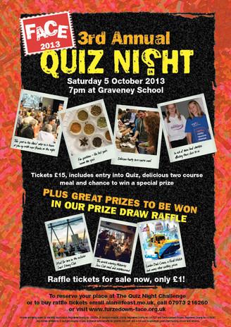 3rd Annual Quiz Night