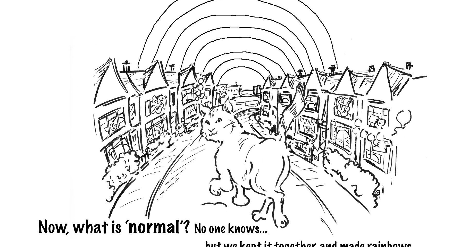 Toots and the New Normal rainbow