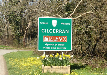 cilgerran-village-sign