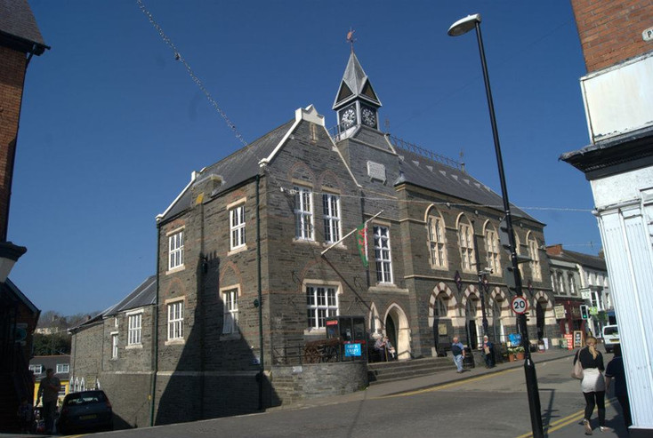 Cardigan Town - Guildhall