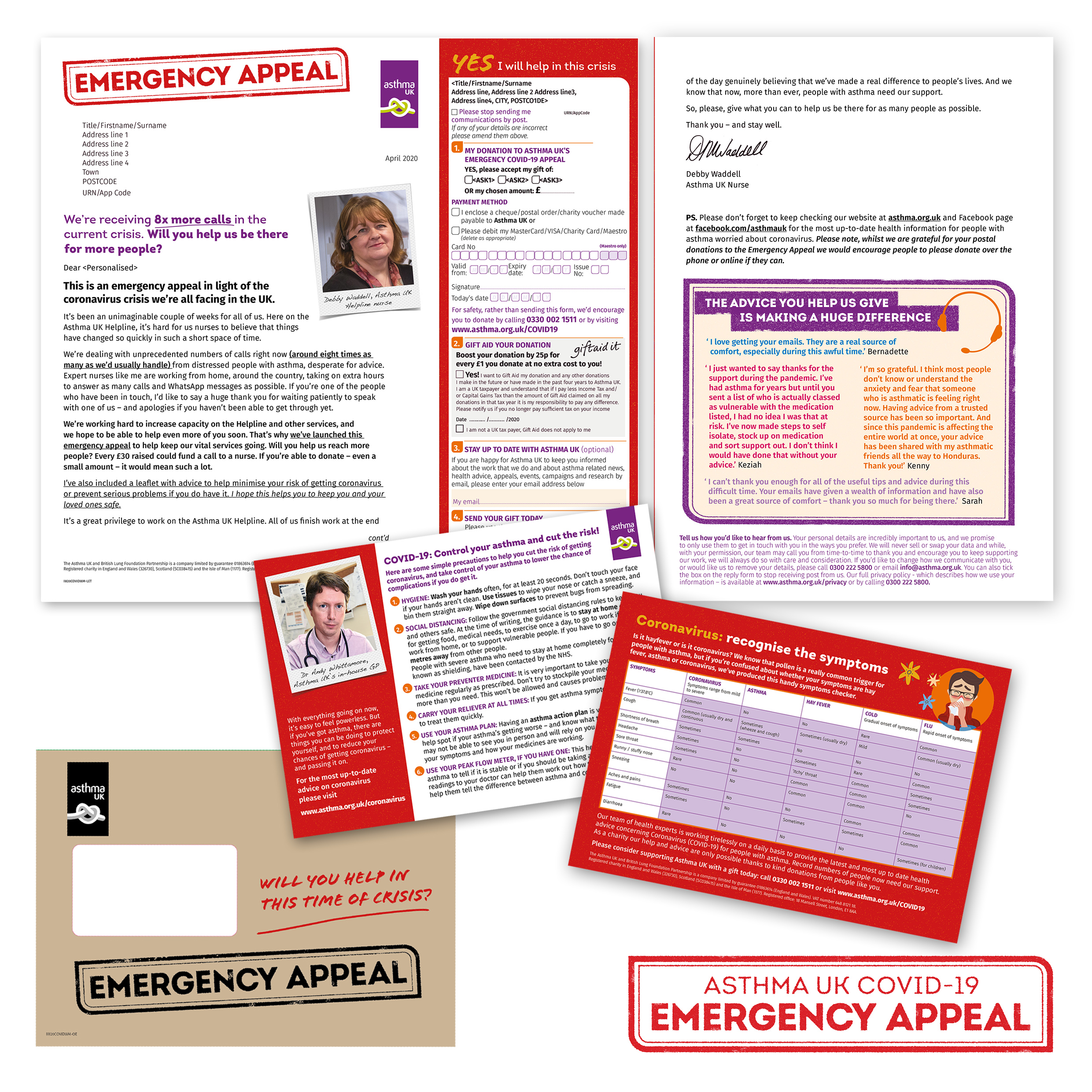 Covid-19 Asthma UK Emergency Appeal