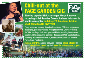 Amazing talent at FACE Garden Gig