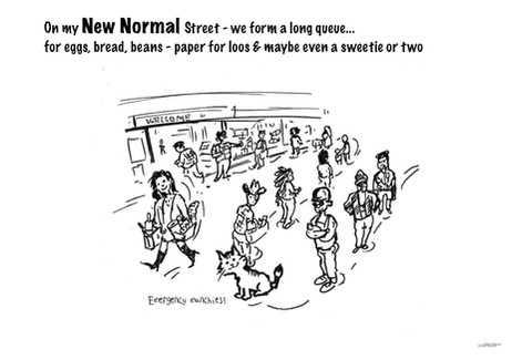 Toots and the New Normal queues