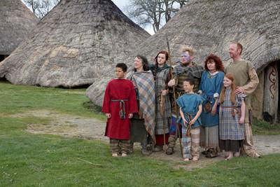 Tribe at Castell Henllys