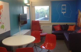 St George's Hospital chill-out room launch!