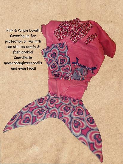 Lg Mermaid Tails - Prints Cont'd