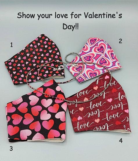 Valentine's Masks!! 💞💗💖