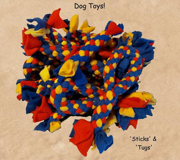 Woven Fleece Dog Toys -SWA Themed