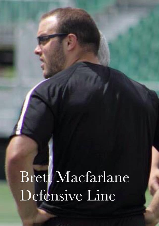 Welcome back coach Brett Macfarlane