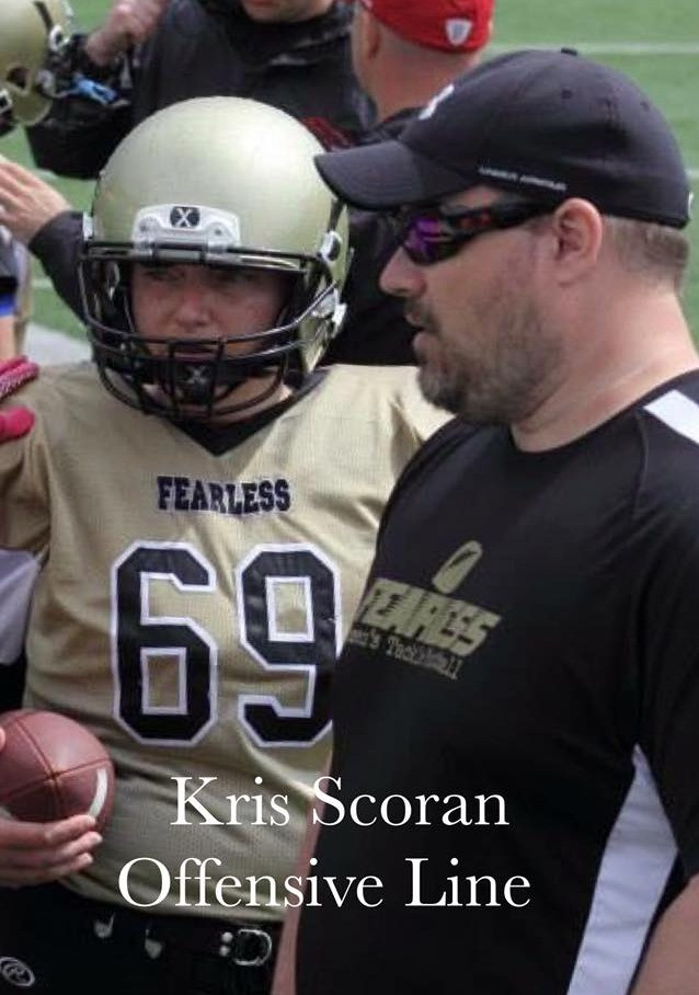 Welcome back coach Kris Scoran