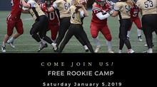 Free Rookie Camp 2019!