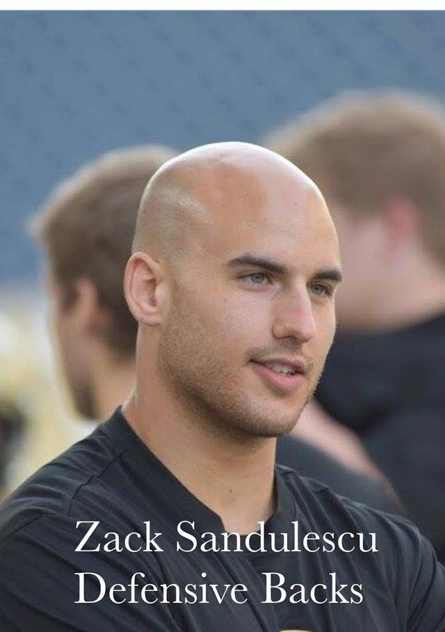 Welcome back coach Zack Sandulescu