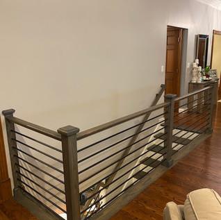 Metal Stair Railing - After