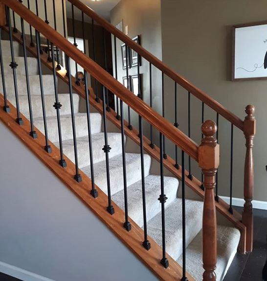rod iron railing