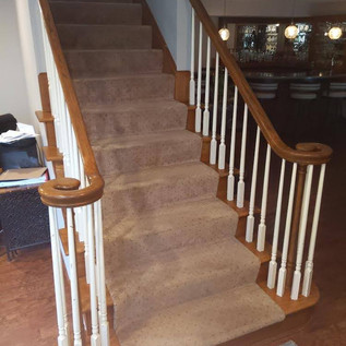 Wood Staircase - Before