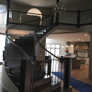 wrapping staircase
