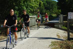 Bike Ride - Hermann to Jeff City 2013 01