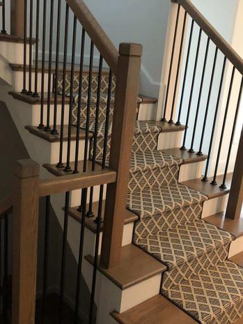 carpet runner staircase