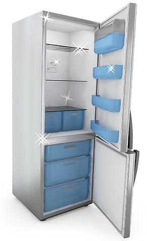 Refrigerator sanitized by UV Lite and Steam