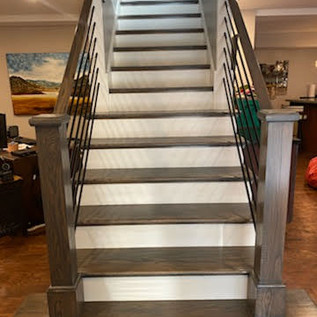 Metal Staircase - After