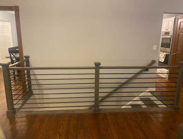 Metal Stair Railing - After