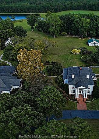 Hudson Manor Aerial