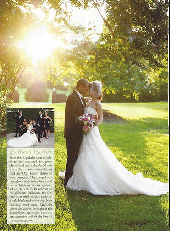 Feature Southern Bride & Groom