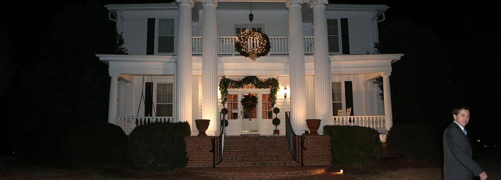 Christmas Manor House