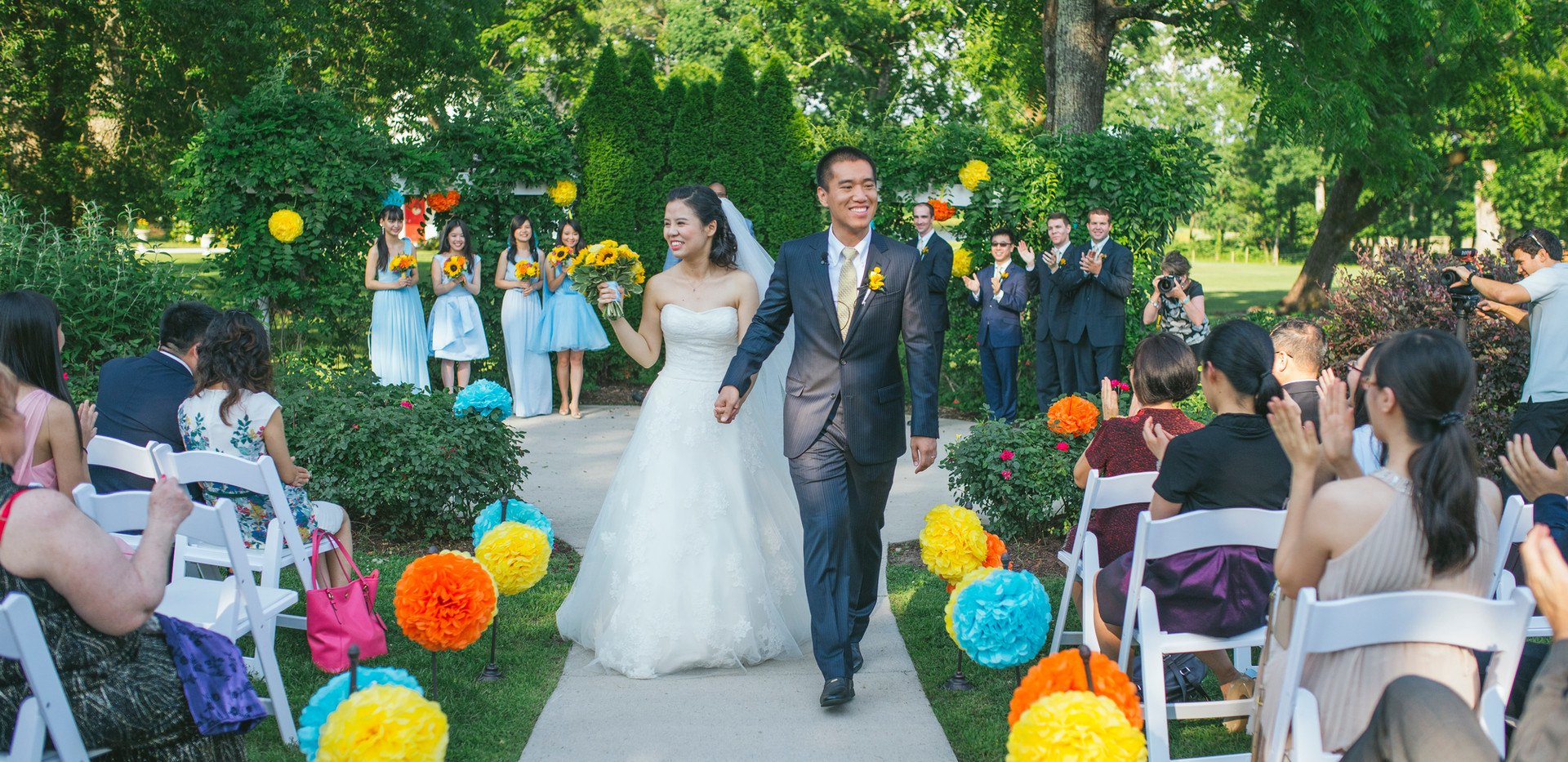 Colorful Ceremony Decor