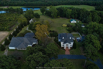 Aerial view Hudson Maor Estate
