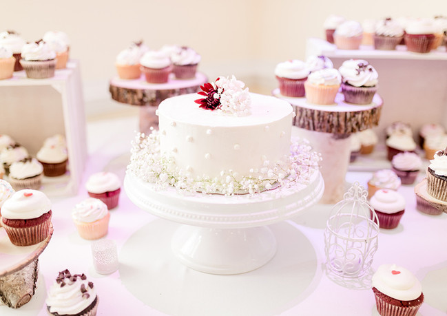 Multi tiered desserts