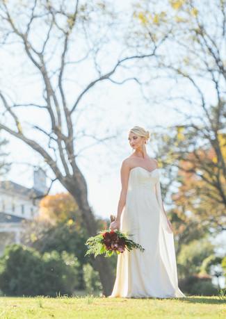 Hudson Manor Bridal Portraits