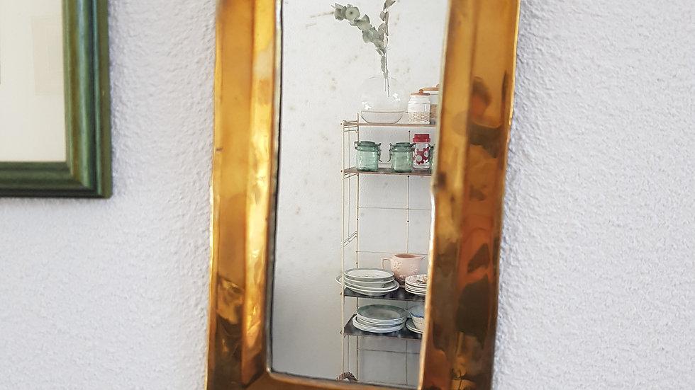 Petit miroir laiton