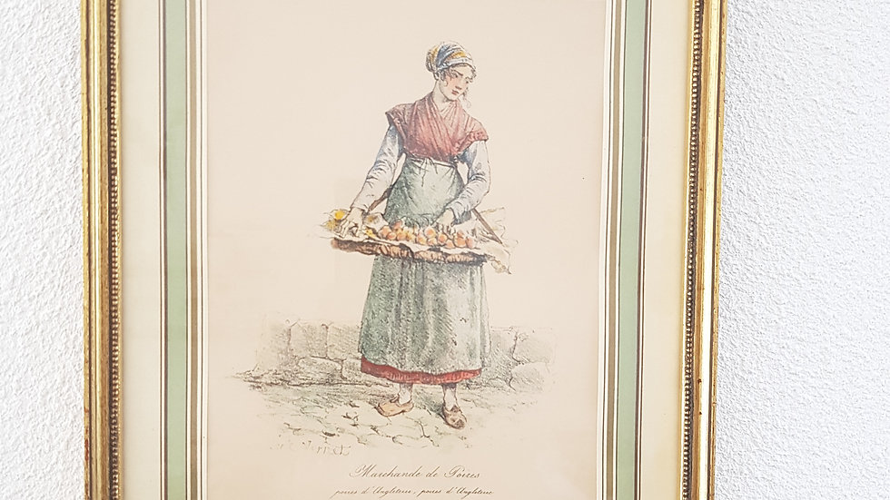 Lithographie ancienne