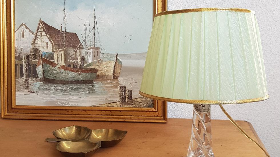Lampe vintage Cristal de Lorraine