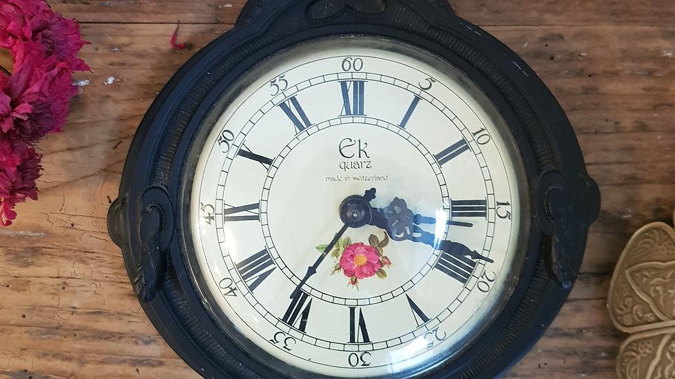 Horloge style oeil de boeuf
