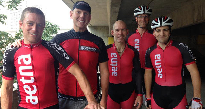 Mark Shea, David Hildebrand, Gary Aspnes, and Ben Carbonetti all raced the 2/3