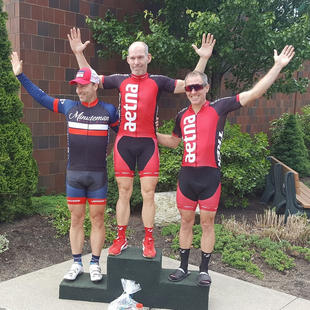 David with the Win and Todd takes 2nd place - Purgatory Road Race