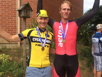 Gary wins Gold - New England Masters Individual Time Trial