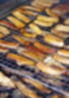 五島くんせい工房の桜チップの燻製