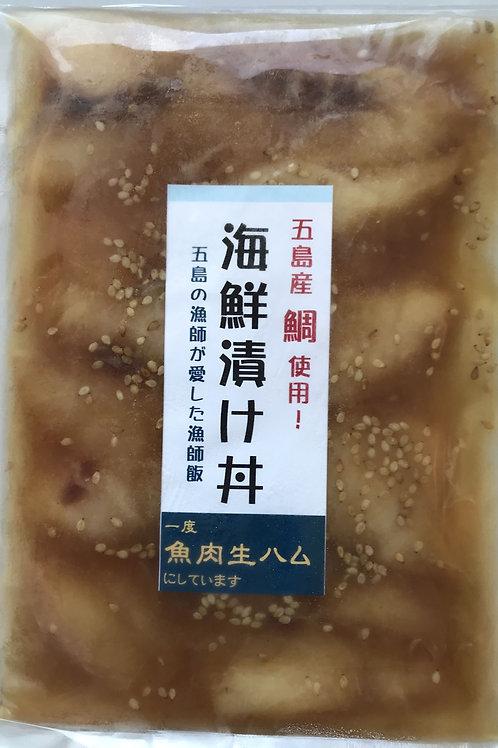 海鮮漬け丼 鯛 (白)